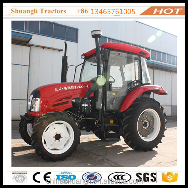 China 100HP 4WD agricultural wheeled tractor with good price