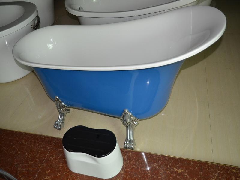 China Freestanding Red Bathtub With Claw Feet Acrylic Claw Foot Tub Buy Acr
