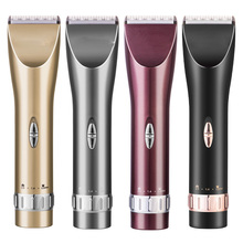 High Quality Professional Barber Rechargeable Electric Hair Clipper Heads Man Mini Trimmer Hair Shaver made in china