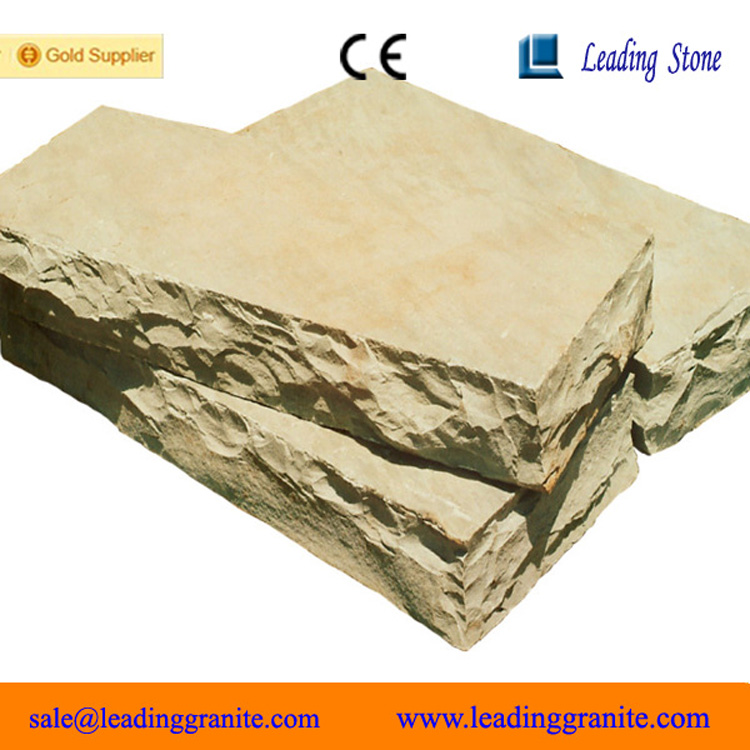 Honed beige color limestone steps prices