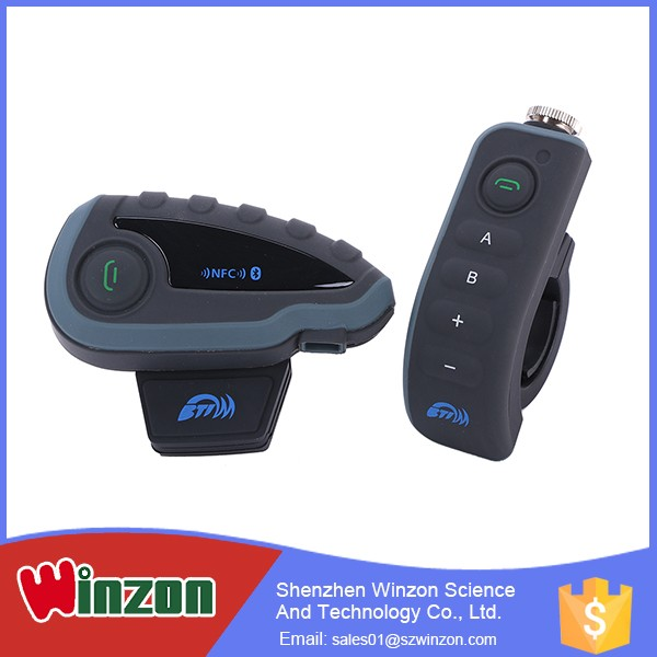 Hot China Products Wholesale Up to 8 Hours Bt Bluetooth Interphone For Motorcycle