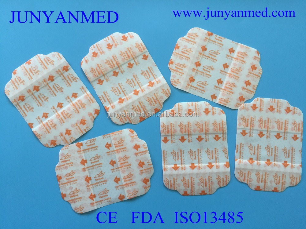 free sample surgical wound iv cannula dressing,transparent film iv dressing
