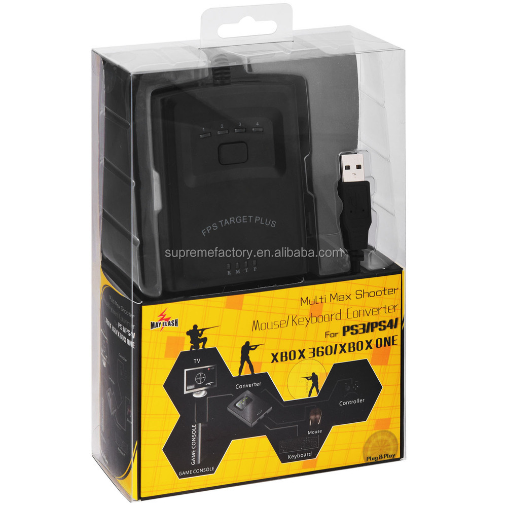 For PS3/PS4/Xbox360/Xbox One May Flash Multi Max Shooter Mouse Keyboard Converter