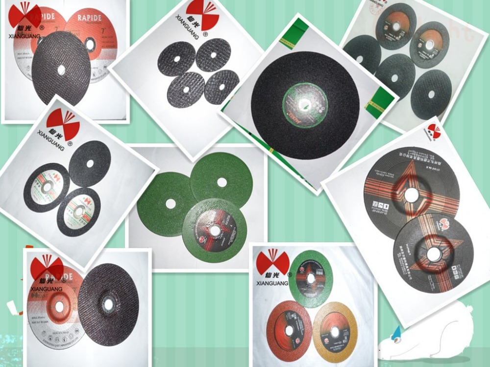 4.5'' Fiber Glass Green Double Net Abrasive Cutting Disc For Metal ...