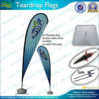 Cheap price high quality Double Sided Beach Flag And Banner