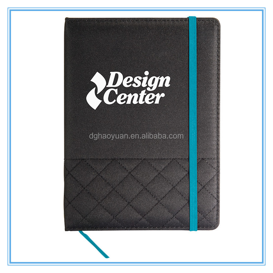 promotional A4A5A6 soft or hard cover paper notebook and notepad book