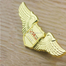 2015 Hot sale eagle shape metal emblem