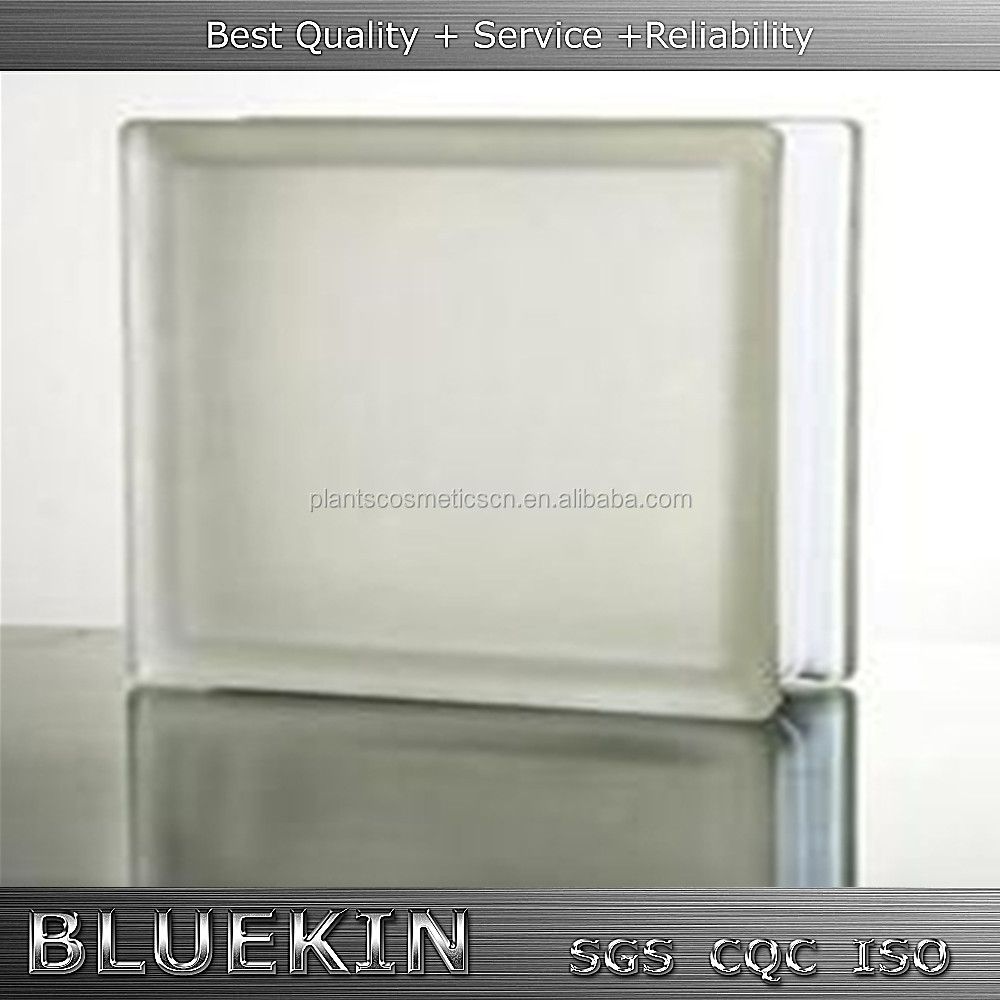 hollow clear/colored glass block for home wall