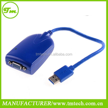 Multi-display USB 3.0 to VGA Dual Monitors Video Graphic Converter Adapter WIN8