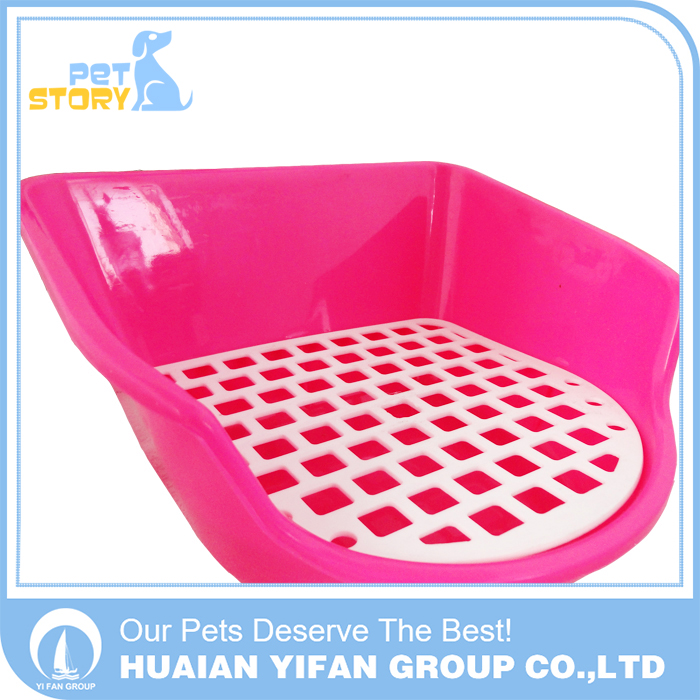 High Quality Plastic colored Portable Dog Training Pet Toilet for sale