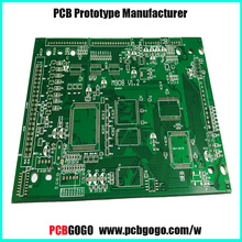 Chinese OEM pcb prototype or assembly 2l pcb board with high quality