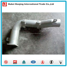 Dongfeng truck engine parts rear muffler intake pipe for muffler