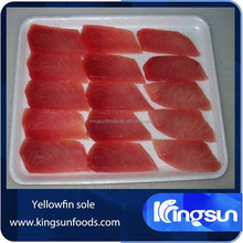 Co treated Frozen yellowfin tuna loin/steak/belly/cheek/cubes/ground meat/kama