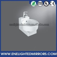 fashion sanitary ware bath room Ceramic material table top basin bathroom sink