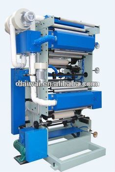 Plastic film laminating machine with double blower width 600mm, one set two colors(DW-P2)