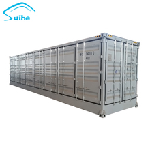 Newest 40FT High cube multi-door shipping container