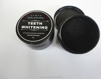 Hot Selling private label Teeth whitening charcoal powder 30 g 60 g coconut activated carbon black powder