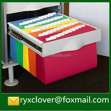 Colorful A4 paper movable document holder