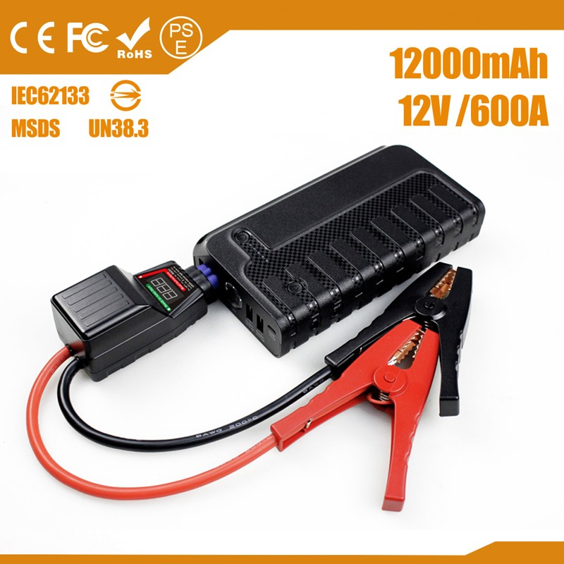baby new product 12000mAh car battery booster for 12V cars