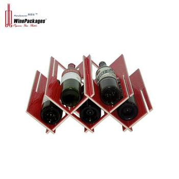 Factory wholesale handmade removable wine rack