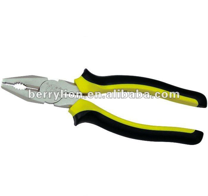 American pattern high carbon steel exquisite polishing 200mm combination plier types