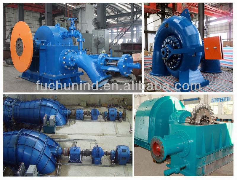 Mini water turbine with high quality/Mini water turbine generator unit for hydro power plant