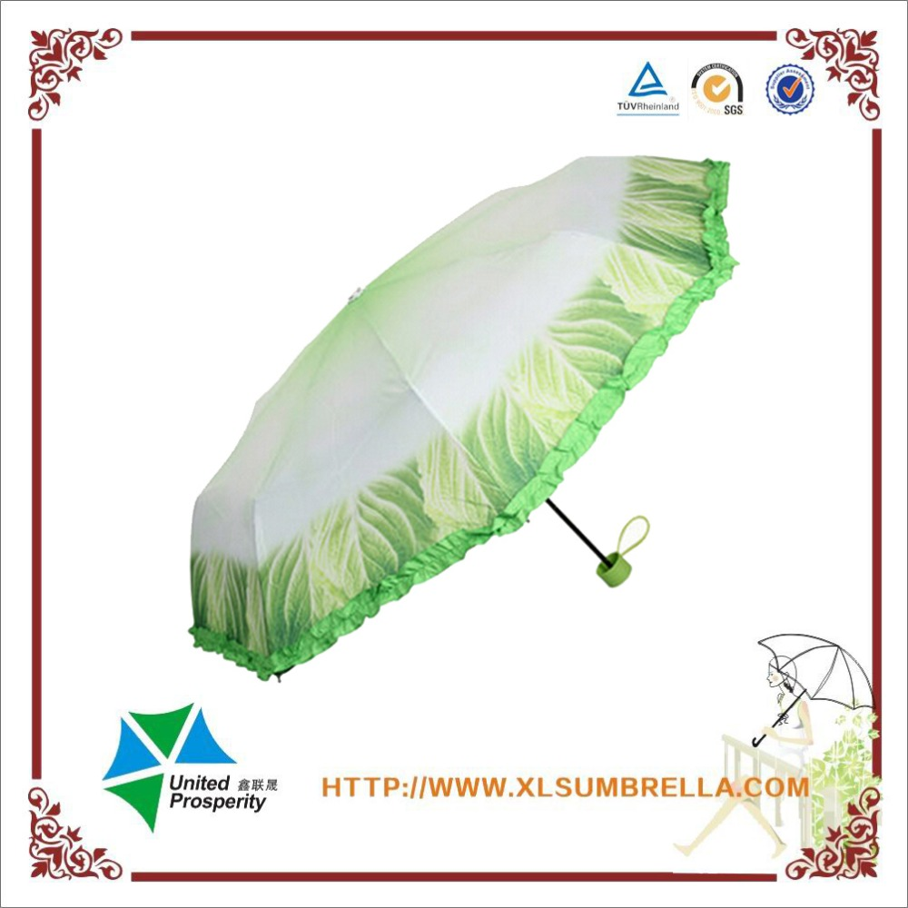 Creative folding umbrella for plants portable tiny vegetable umbrella