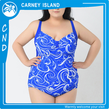 Traditional Printed Backless Hot Sexy One Piece sling women girl bikinis