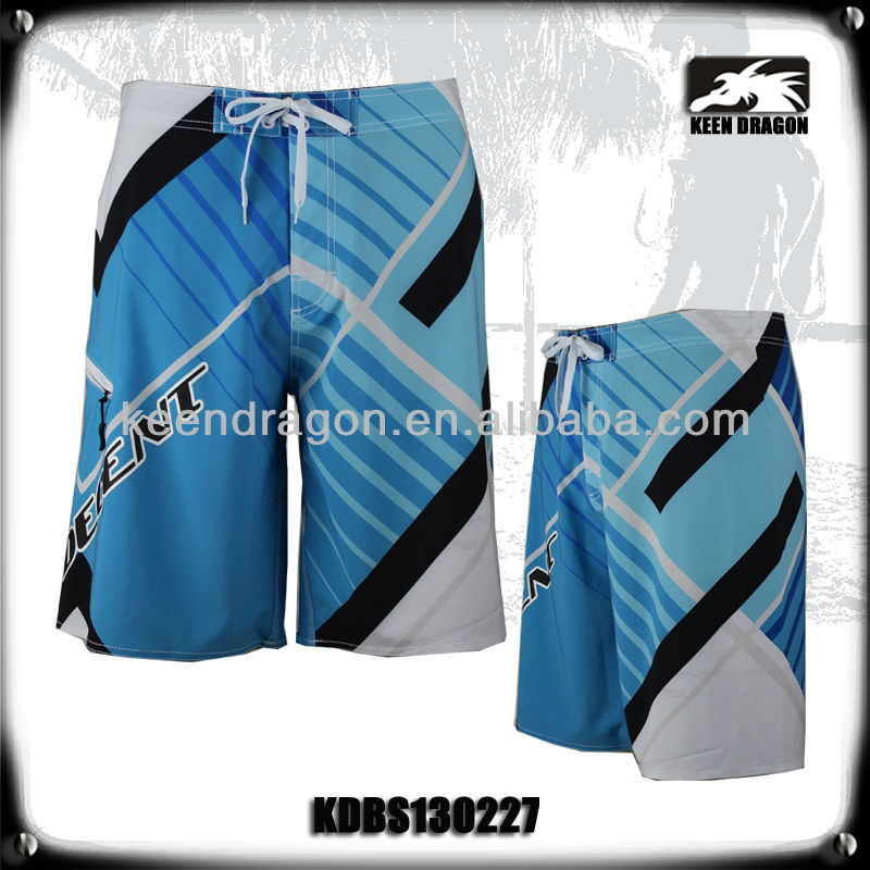 top quality surfing pants 4-way stretch sexy men swimwear