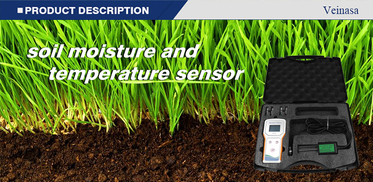 Takeme-10EC GPS Soil Usb Temperature Moisture Data Logger