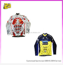 Guangzhou manufacturer specialized cycling jersey 2016 pro teams custom design varsity cycling jacket