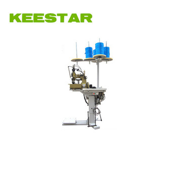 Keestar 81300A1HL chain stitch overedge double needle FIBC bulk bag sewing machine