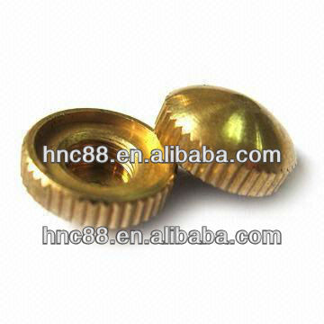 High precision copper insert nut for injection molding