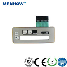 wholesale push button tactile custom membrane keypad with 3m adhesive