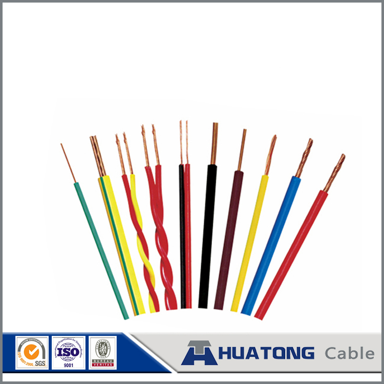 BV cable wire electrical PVC insulation Copper conductor single core 1.5mm2 2.5mm2 4mm2 housing wire prices