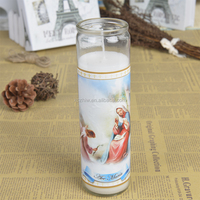 VELA AVE MARIA Religious Candles In Different Sizes Factory Direct Sell
