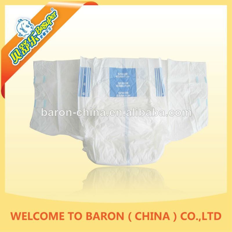 Cheap breathable disposable top quality free adult diaper sample