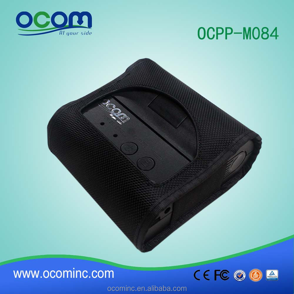 OCPP-M084: cheap 80mm mini pocket wireless thermal POS bill invoice receipt printer for bus taxi ticket on smartphone