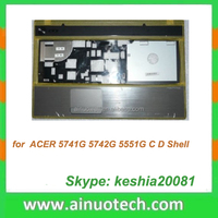laptop spare for ACER 5742G 5551G 5741G laptop C shell laptop keyboard cover A,B,C,D,E case