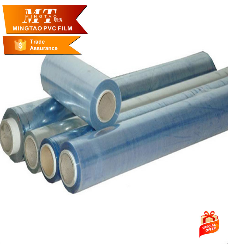 soft virgin pvc material sheet heat shrinkable plastic film
