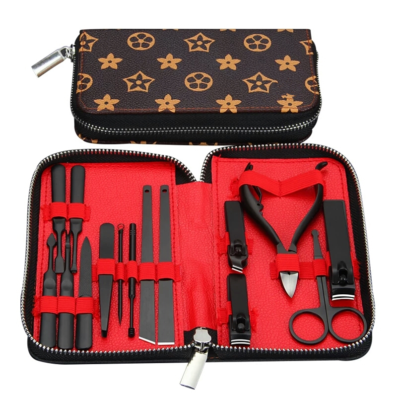 Professional Nail Scissors Grooming Kit Manicure Tool Set Supplies