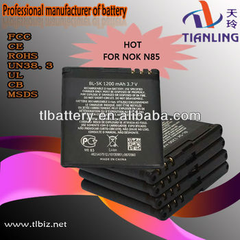 compatible battery bl-5k for nokia mobile phone