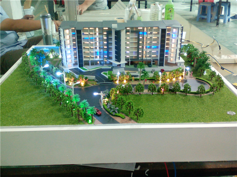 Architectural Design 3d Rendering Building House Model