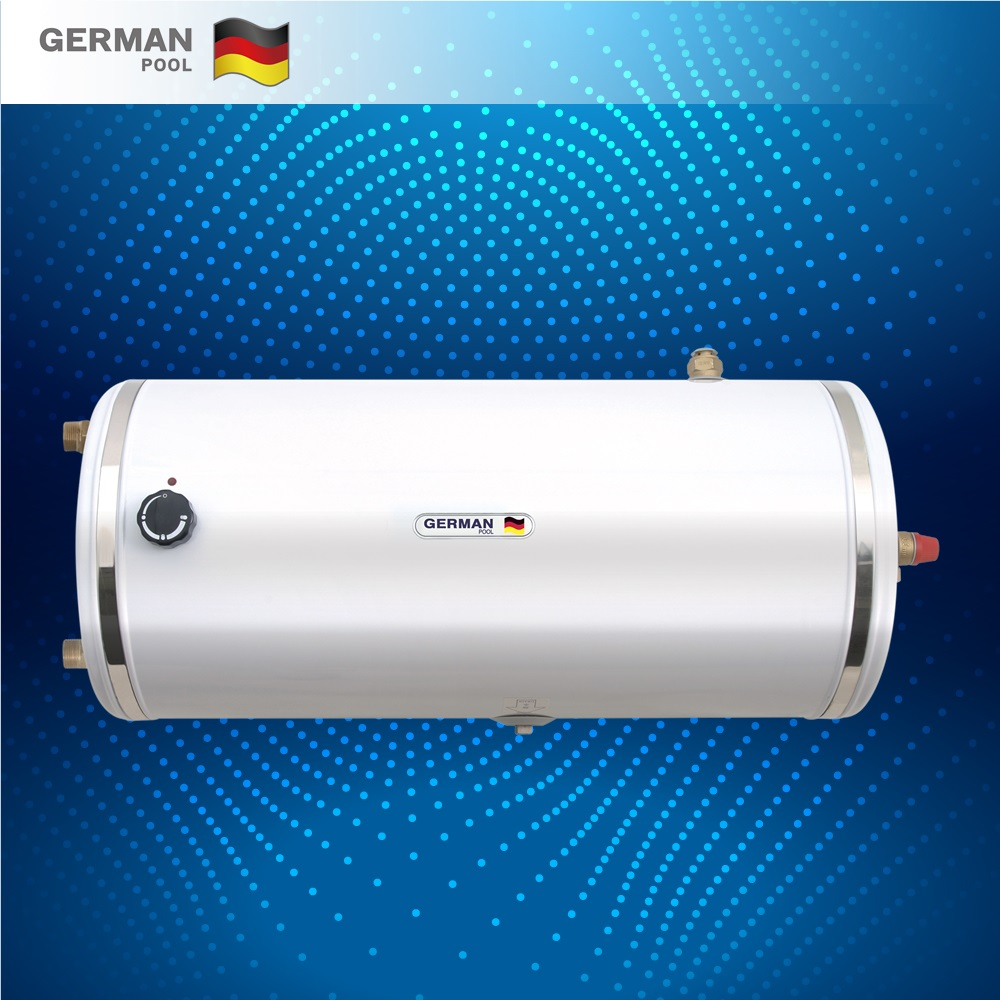 GermanPool Customized tough 2KW auto thermostatic control Floor mounted Construction horizontal Tank Gas Geyser