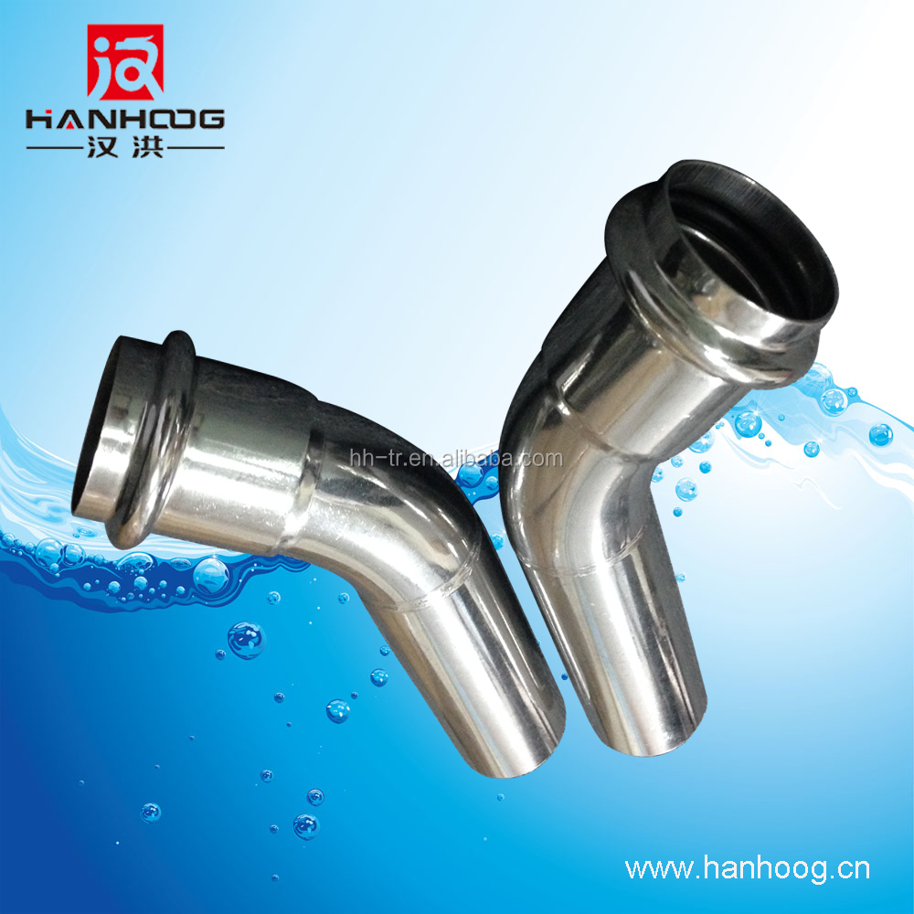 Stainless steel pipe fitting machinery