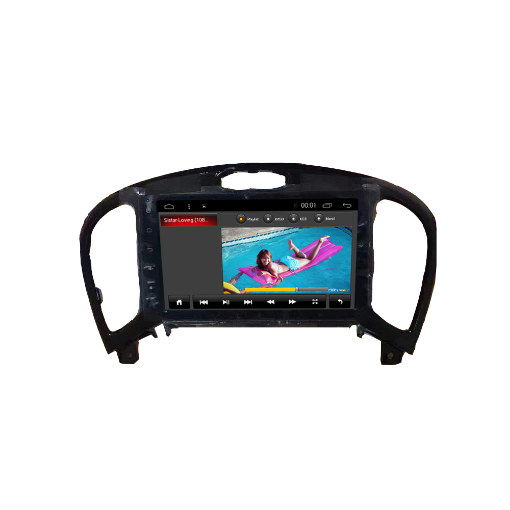 android 6.0 car dvd multimedia gps navigation player for NISSAN1 JUKE with touch screen