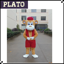 "Spring Festival "" L "" size custom adult monkey mascot costume for events"