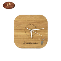 remember past times or old acquaintances A living room wooden square with rounded corners wall clock