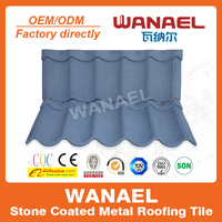 Concrete heat insulation plastic fiber cement roof tile/Stone coated metal roof tiles/Guangzhou building materials