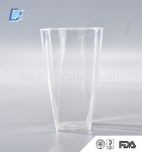 Wholesale FDA Homeware Large Disposable Plastic Drinking Tea Cups